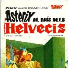 Cómics: ASTERIX AL PAIS DELS HELVECIS - MAS IVARS 1977 - TAPA DURA - EN CATALA. Lote 213097570