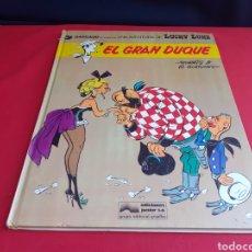 Cómics: LUCKY LUKE EL GRAN DUQUE. Lote 213328110