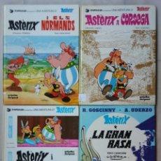 Comics : LOTE DE 4 LIBROS DE ÁXTÈRIX Y OBELIX, EN CATALAN - AÑOS 80 - R.GOSCINNY ~ A.UDERZO - PJRB. Lote 213340190