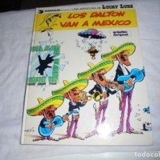 Cómics: LOS DALTON VAN A MEXICO.LUCKY LUKE Nº 8.GUION E ILUSTRACIONES DE MORRIS. Lote 213407565
