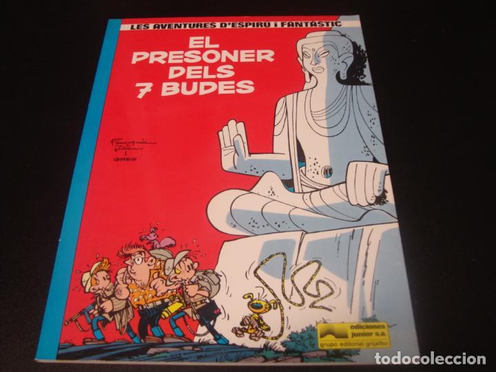 COMIC LES AVENTURES D´ESPIRU I FANTASTIC : EL PRESONER DELS SET BUDES ( FRANQUIN & GREGG ) (Tebeos y Comics - Grijalbo - Spirou)