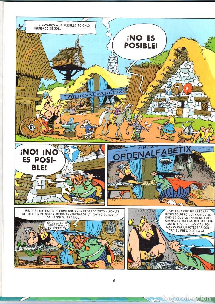 Cómics: ASTERIX. LA GRAN TRAVESIA. Nº 22. GRIJALBO / DARGAUD. CARTONÉ. AÑO 1991 - Foto 2 - 213690598