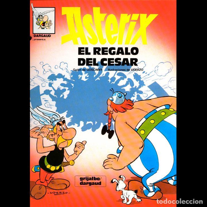 ASTERIX. EL REGALO DEL CESAR. ALBERT UDERZO. RENE GOSCINNY. GRIJALBO 1980. TAPA DURA (Tebeos y Comics - Grijalbo - Asterix)