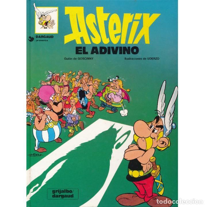 ASTERIX. EL ADIVINO. ALBERT UDERZO. RENE GOSCINNY. GRIJALBO 1980. TAPA DURA (Tebeos y Comics - Grijalbo - Asterix)
