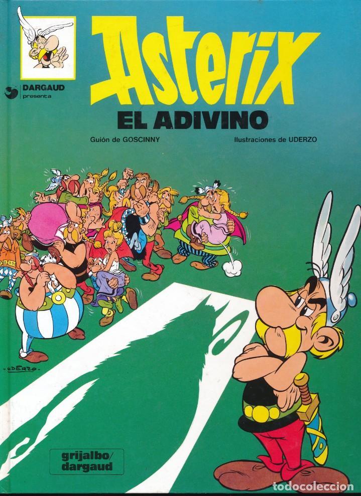 Cómics: Asterix. El adivino. Albert Uderzo. Rene Goscinny. Grijalbo 1980. Tapa dura - Foto 3 - 213759017