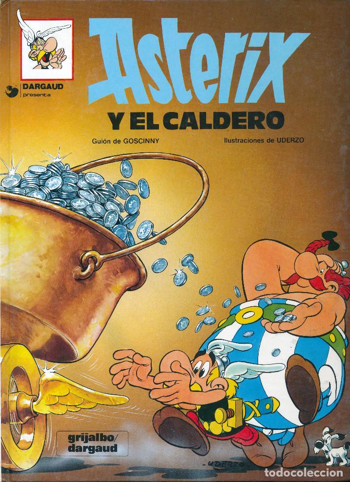 Cómics: Asterix y el Caldero. Albert Uderzo. Rene Goscinny. Grijalbo 1980. Tapa dura - Foto 3 - 213760010