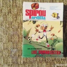 Fumetti: SPIROU ARDILLA - Nº 55 - AÑO II - CON AVENTURAS DE LOS HOMBRECITOS -(M1). Lote 213761492