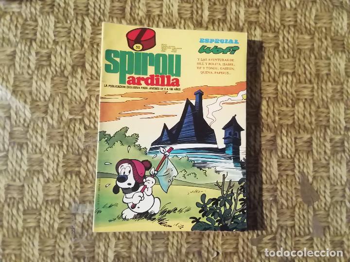 SPIROU ARDILLA - Nº 52 - AÑO II - ESPECIAL WOFI -(M1) (Tebeos y Comics - Grijalbo - Spirou)