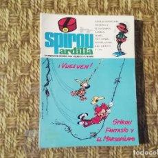 Comics: SPIROU ARDILLA - Nº 53 - AÑO II - PORTADA SPIROU FANTASIO Y EL MARSUPILAMI -(M1). Lote 213763560