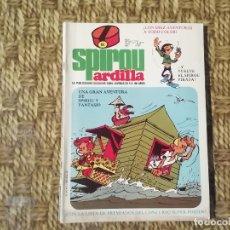 Fumetti: SPIROU ARDILLA - Nº 62 - AÑO II - PORTADA SPIROU FANTASIO -(M1). Lote 213764617