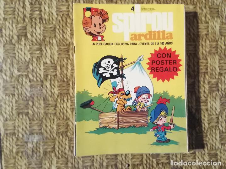 SPIROU ARDILLA - Nº 4 - AÑO I -(M1) (Tebeos y Comics - Grijalbo - Spirou)
