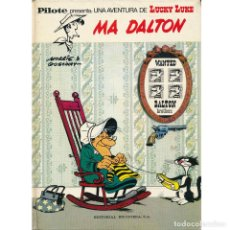 Cómics: LUCKY LUKE. MA DALTON. PILOTE. BRUGUERA. TAPA DURA. OFERTA 2X1. Lote 287478913