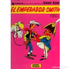Fumetti: LUCKY LUKE 01. EL EMPERADOR SMITH. MORRIS. GOSCINNY. GRIJALBO. TAPA DURA. OFERTA 2X1. Lote 213783172