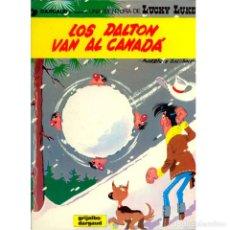 Fumetti: LUCKY LUKE 22. LOS DALTON VA AL CANADA. MORRIS. GOSCINNY. GRIJALBO. TAPA DURA. OFERTA 2X1. Lote 213783355