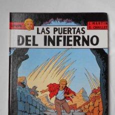 Cómics: LEFRANC Nº 5 LAS PUERTAS DEL INFIERNO - J. MARTIN, G. CHAILLET - EDICIONES JUNIOR GRIJALBO 1987.. Lote 213948210