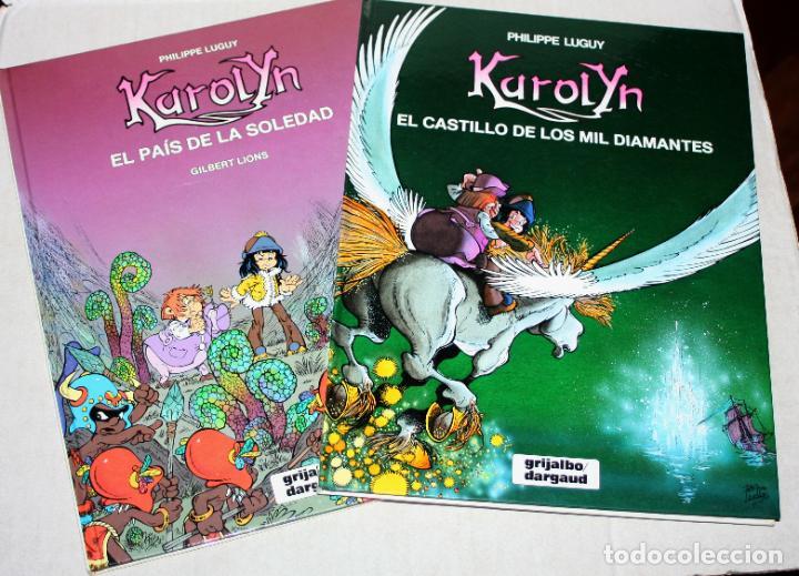 KAROLYN (DE LUGUY).COMPLETA EN DOS TOMOS: EL CASTILLO DE LOS MIL DIAMANTES Y EL PAIS DE LA SOLEDAD (Tebeos y Comics - Grijalbo - Percevan)