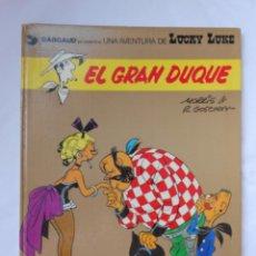 Cómics: LUCKY LUKE - EL GRAN DUQUE - GRIJALBO / DARGAUD - TAPA DURA - 1977. Lote 214084913