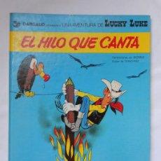 Cómics: LUCKY LUKE - EL HILO QUE CANTA - GRIJALBO / JUNIOR - TAPA DURA - 1978. Lote 214090265
