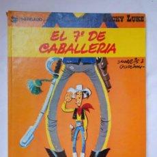 Cómics: LUCKY LUKE - EL 7º DE CABALLERIA - GRIJALBO / JUNIOR - TAPA DURA - 1978. Lote 214090427