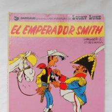 Cómics: LUCKY LUKE - EL EMPERADOR SMITH - GRIJALBO / JUNIOR - TAPA DURA - 1976. Lote 214111213