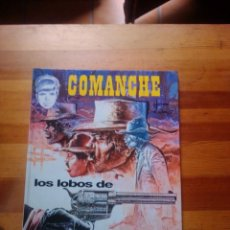 Cómics: LOS LOBOS DE WYOMING (COMANCHE). Lote 214128111