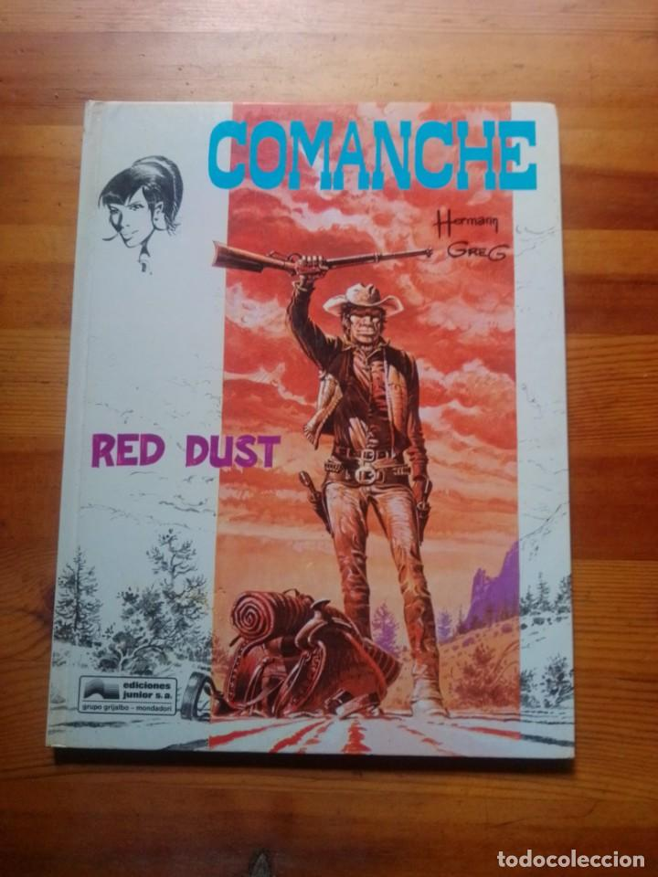 RED DUST (COMANCHE) (Tebeos y Comics - Grijalbo - Comanche)