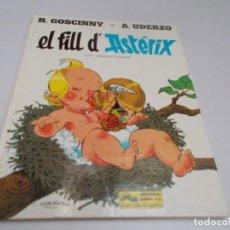 Cómics: ASTERIX EL FILLL D'ASTÉRIX. Lote 214134243