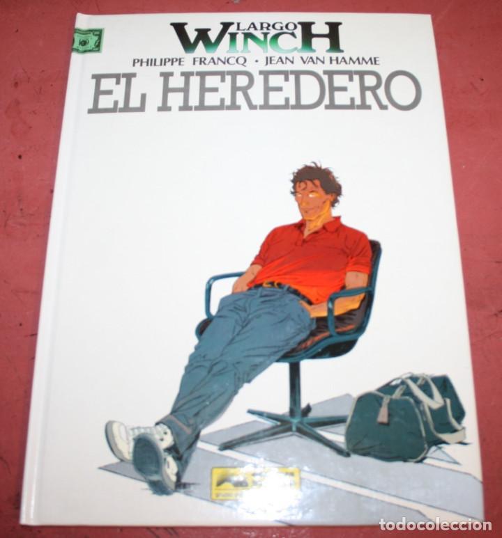 LARGO WINCH - EL HEREDERO - FRANQ/VAN HAMME - ED. GRIJALBO - 1992 (Tebeos y Comics - Grijalbo - Largo Winch)