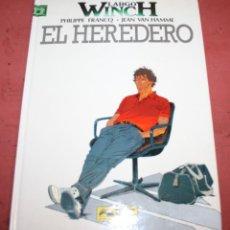 Cómics: LARGO WINCH - EL HEREDERO - FRANQ/VAN HAMME - ED. GRIJALBO - 1992. Lote 214150862