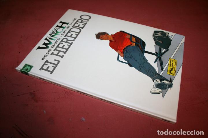 Cómics: LARGO WINCH - EL HEREDERO - FRANQ/VAN HAMME - ED. GRIJALBO - 1992 - Foto 2 - 214150862