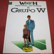 Cómics: LARGO WINCH - EL GRUPO W - FRANQ/VAN HAMME - ED. GRIJALBO - 1992. Lote 214150878