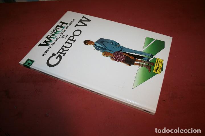 Cómics: LARGO WINCH - EL GRUPO W - FRANQ/VAN HAMME - ED. GRIJALBO - 1992 - Foto 2 - 214150878