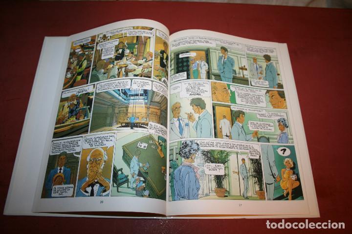 Cómics: LARGO WINCH - EL GRUPO W - FRANQ/VAN HAMME - ED. GRIJALBO - 1992 - Foto 3 - 214150878
