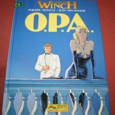 Cómics: LARGO WINCH - O.P.A. - FRANQ/VAN HAMME - ED. GRIJALBO - 1993. Lote 214151408