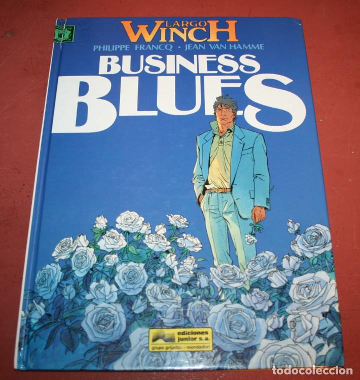 LARGO WINCH - BUSINESS BLUES - FRANQ/VAN HAMME - ED. GRIJALBO - 1994 (Tebeos y Comics - Grijalbo - Largo Winch)