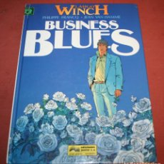 Cómics: LARGO WINCH - BUSINESS BLUES - FRANQ/VAN HAMME - ED. GRIJALBO - 1994. Lote 214151448