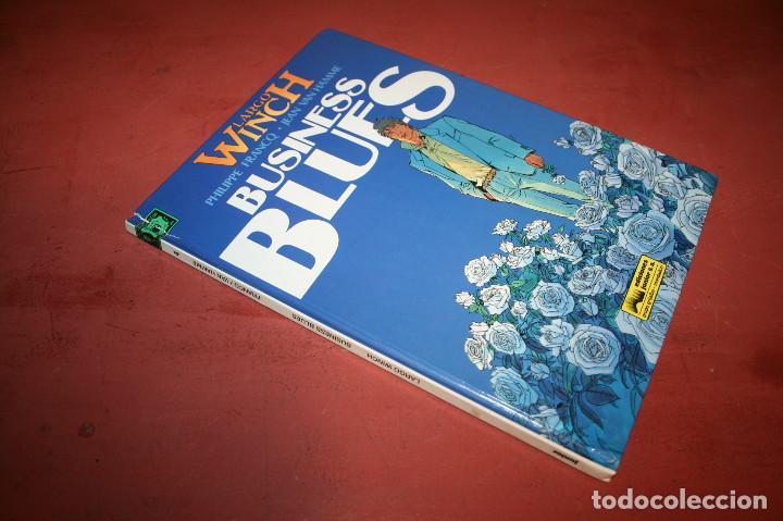 Cómics: LARGO WINCH - BUSINESS BLUES - FRANQ/VAN HAMME - ED. GRIJALBO - 1994 - Foto 3 - 214151448