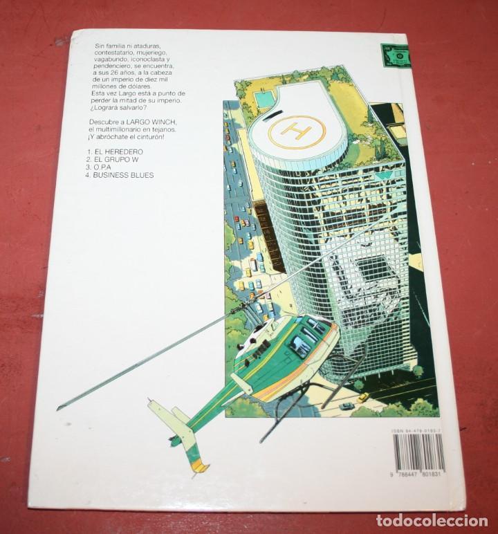 Cómics: LARGO WINCH - BUSINESS BLUES - FRANQ/VAN HAMME - ED. GRIJALBO - 1994 - Foto 5 - 214151448