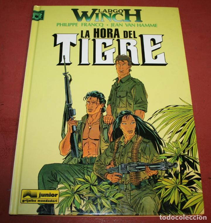 LARGO WINCH - LA HORA DEL TIGRE - FRANQ/VAN HAMME - ED. GRIJALBO - 1997 (Tebeos y Comics - Grijalbo - Largo Winch)