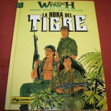 Cómics: LARGO WINCH - LA HORA DEL TIGRE - FRANQ/VAN HAMME - ED. GRIJALBO - 1997. Lote 214151466