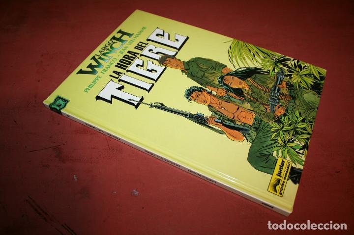 Cómics: LARGO WINCH - LA HORA DEL TIGRE - FRANQ/VAN HAMME - ED. GRIJALBO - 1997 - Foto 3 - 214151466