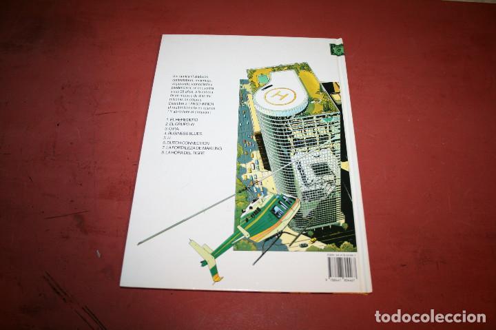 Cómics: LARGO WINCH - LA HORA DEL TIGRE - FRANQ/VAN HAMME - ED. GRIJALBO - 1997 - Foto 4 - 214151466