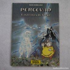 Comics : PERCEVAN. LAS LLAVES DE FUEGO - FAUCHE. LETURGIE. LUGUY - GRIJALBO/DARGAUD - 1988. Lote 214274952