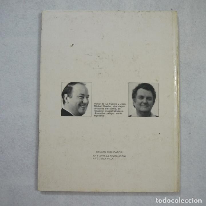 Cómics: LOS GRINGOS ¡VIVA VILLA! - J.M. CHARLIER Y V. DE LA FUENTE - EDICIONES JUNIOR - 1981 - Foto 2 - 214275253