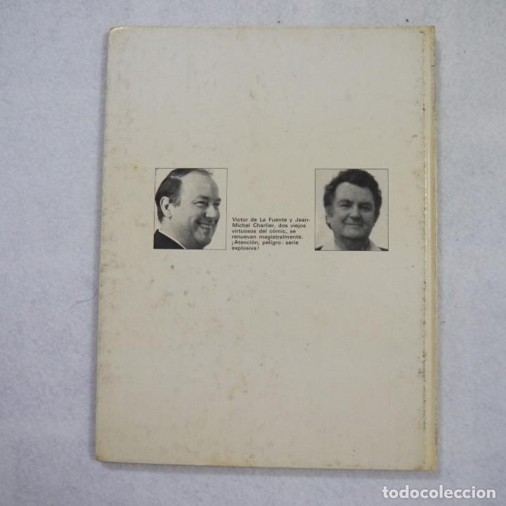 Cómics: LOS GRINGOS ¡VIVA LA REVOLUCIÓN! - J.M. CHARLIER Y V. DE LA FUENTE - EDICIONES JUNIOR - 1980 - Foto 2 - 214275458