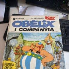 Cómics: OBELIX I LA COMPANYIA. Lote 214729058