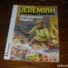 Cómics: JEREMIAH Nº 3. LOS HEREDEROS SALVAJES. EDICIONES JUNIOR GRIJALBO. 1981. TAPA RUSTICA. Lote 215026597