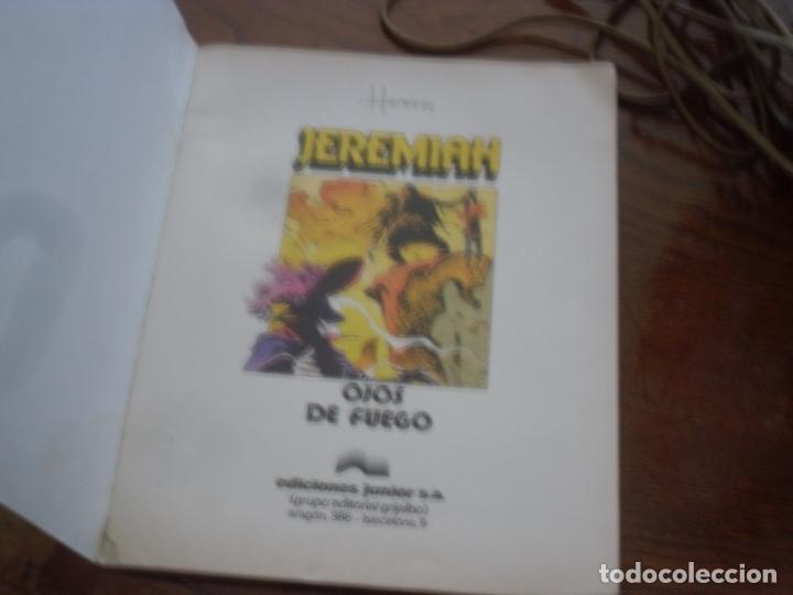 Cómics: JEREMIAH Nº 4. OJOS DE FUEGO. EDICIONES JUNIOR GRIJALBO. 1981. TAPA RUSTICA - Foto 3 - 215027720