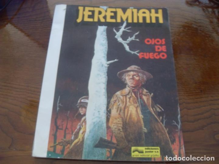 JEREMIAH Nº 4. OJOS DE FUEGO. EDICIONES JUNIOR GRIJALBO. 1981. TAPA RUSTICA (Tebeos y Comics - Grijalbo - Jeremiah)