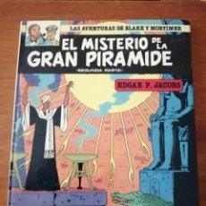 Comics : EL MISTERIO DE LA GRAN PIRÁMIDE LAS AVENTURAS DE BLAKE Y MORTIMER 2. Lote 215186038